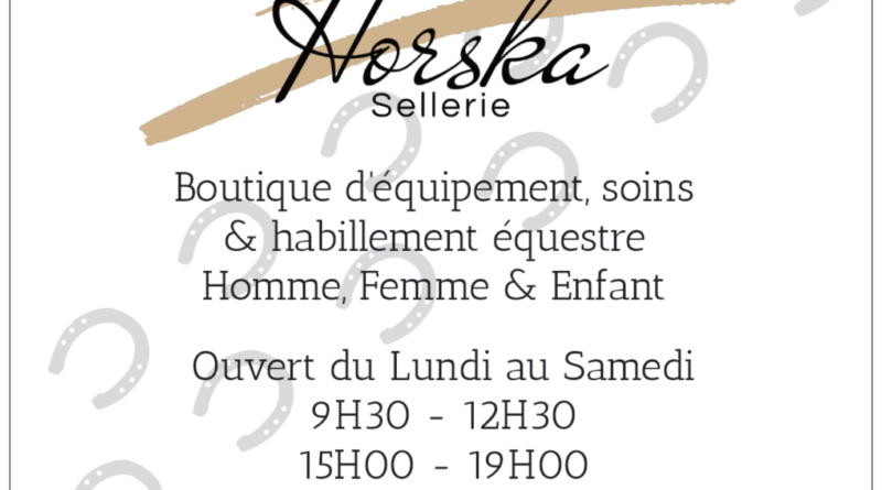 Affiche sellerie
